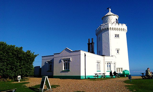 You are browsing images from the article: South Foreland Lighthouse - wiktoriańska latarnia morska w Dover