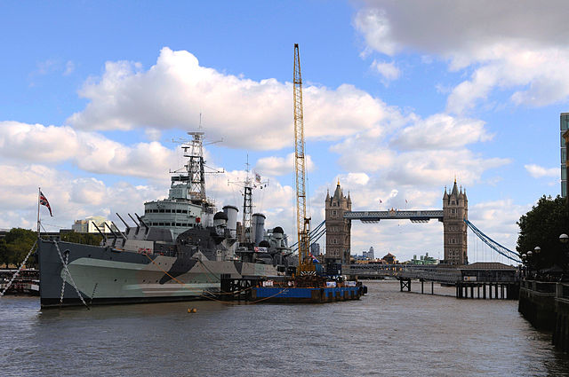 You are browsing images from the article: HMS Belfast - muzeum na brytyjskim okręcie wojennym