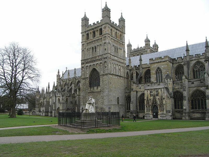 You are browsing images from the article: Exeter Cathedral - Katedra św. Piotra w Exeter