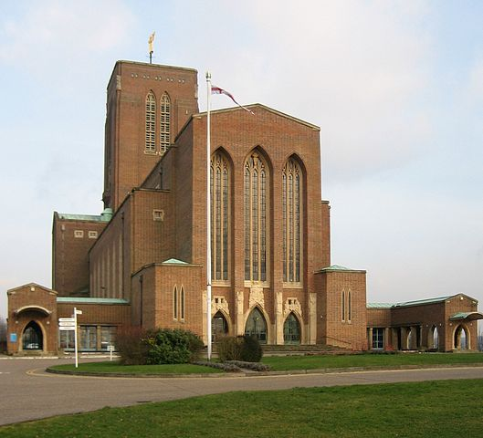You are browsing images from the article: Guildford Cathedral - anglikańska katedra z XX wieku