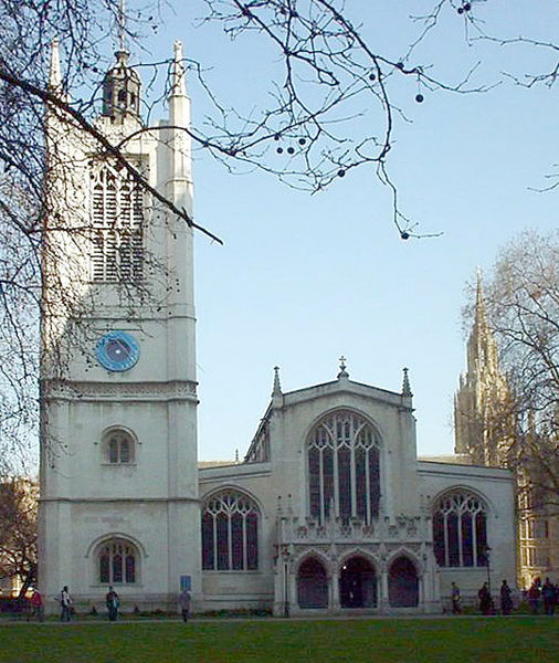 You are browsing images from the article: St Margaret's Church w Londynie - parafia Pałacu Westminsterskiego
