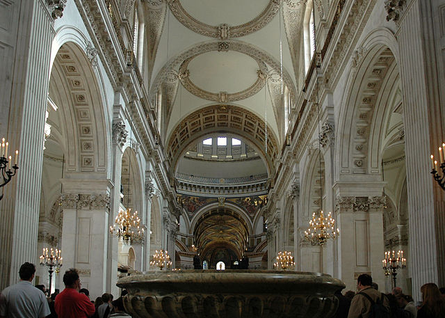 You are browsing images from the article: St Paul's Cathedral - jeden z najbardziej znanych kościołów w Wielkiej Brytanii