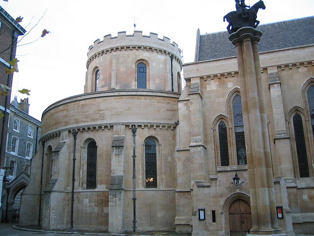 You are browsing images from the article: Temple Church w Londynie - dawna angielska siedziba Zakonu Templariuszy