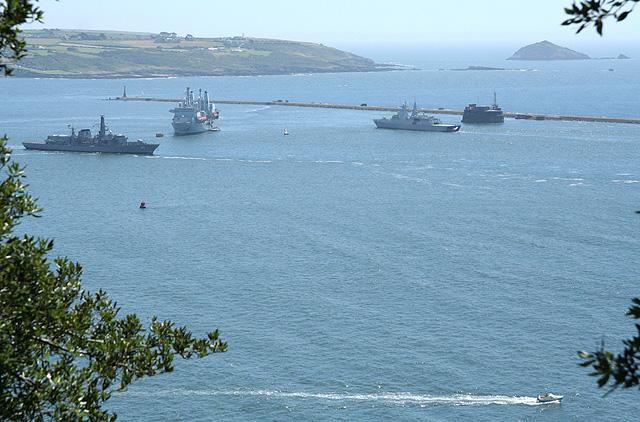 You are browsing images from the article: Plymouth - jeden z największych portów Wielkiej Brytanii