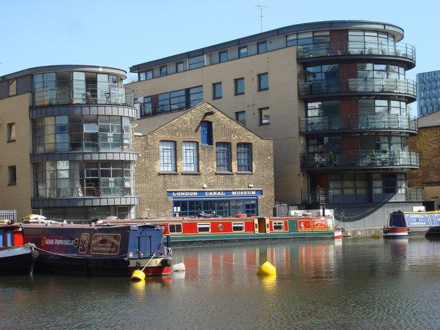 You are browsing images from the article: London Canal Museum - muzeum, w którym można poznać historię londyńskich kanałów wodnych