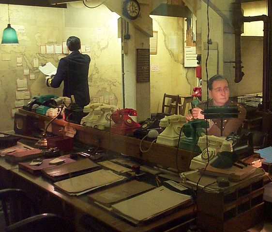 You are browsing images from the article: Churchill War Rooms - wojenna siedziba rządu brytyjskiego