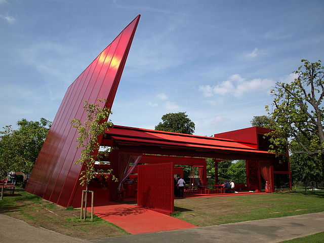 You are browsing images from the article: Serpentine Gallery w Londynie - prestiżowa galeria w Hyde Parku