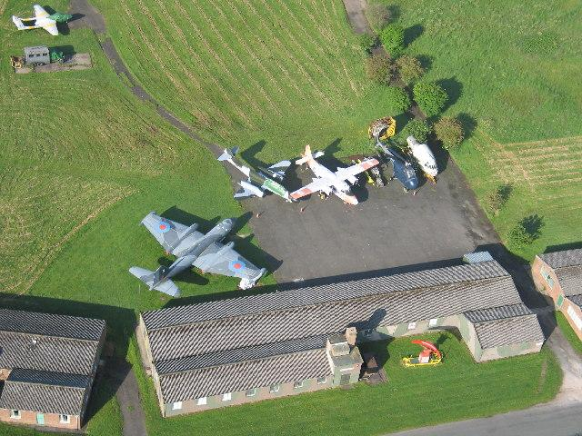 You are browsing images from the article: Solway Aviation Museum - muzeum lotnictwa w pobliżu Carlisle