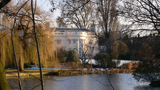 You are browsing images from the article: Regent's Park - królewski park Jerzego IV
