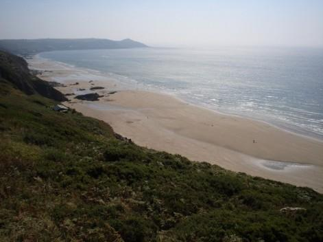 You are browsing images from the article: Whitsand Bay - zatoka i piaszczyste wybrzeże Kornwalii