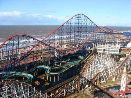 You are browsing images from the article: Pleasure Beach Resort w Blackpool - najpopularniejszy park rozrywki w UK