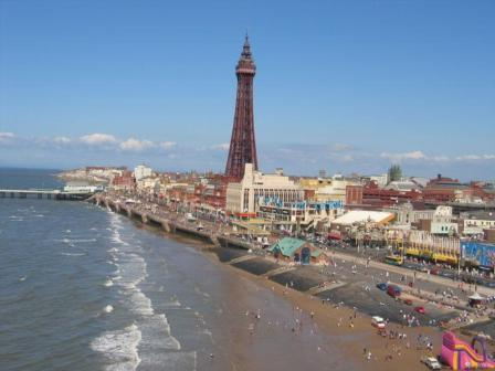 You are browsing images from the article: Wieża 'Blackpool Tower' - niezapomniane wrażenia i widoki
