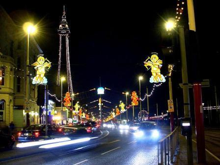 You are browsing images from the article: Wieża 'Blackpool Tower' - niezapomniane wrażenia i widoki