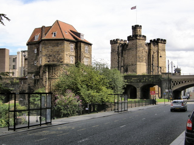 You are browsing images from the article: The Castle Keep - Zamek w Newcastle upon Tyne
