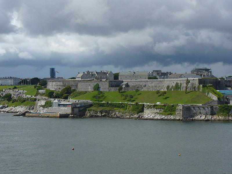 You are browsing images from the article: The Royal Citadel - Królewska Cytadela w Plymouth