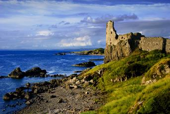 You are browsing images from the article: Dunure Castle - romantyczne ruiny... twierdza rodu Kennedy