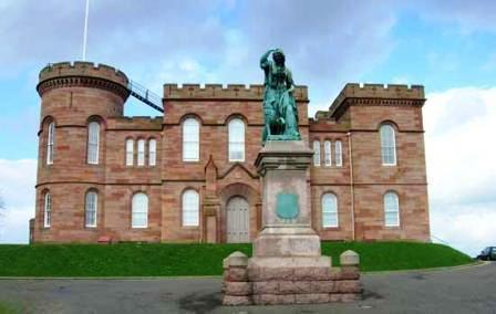 You are browsing images from the article: Inverness Castle - duma stolicy Highlands z XI wieku
