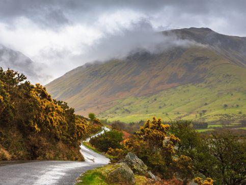 Góry, szczyty i pasma górskie w Anglii