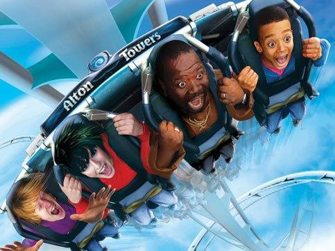 Lunaparki i parki rozrywki w Anglii
