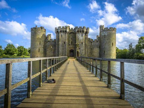 Zamki, pałace i twierdze w Anglii