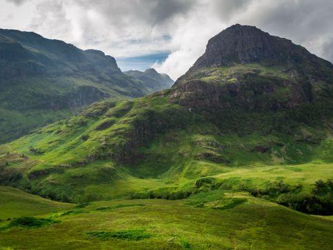 Doliny i przyroda w Szkocji
