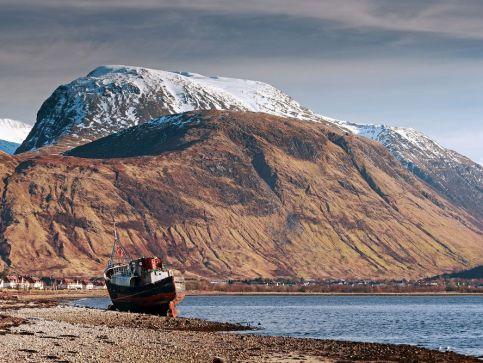 Góry, szczyty i pasma górskie w Szkocji