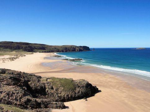 Plaże, wybrzeże i zatoki w Szkocji
