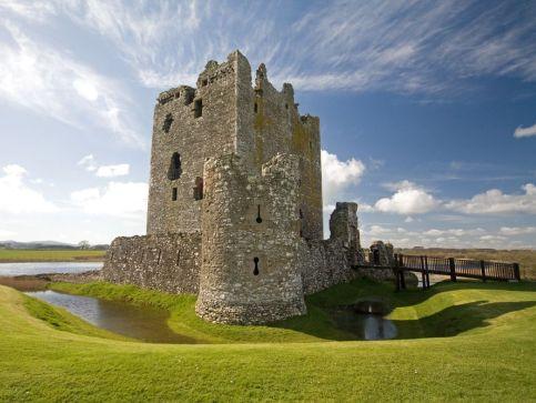 Ruiny zamków w Szkocji