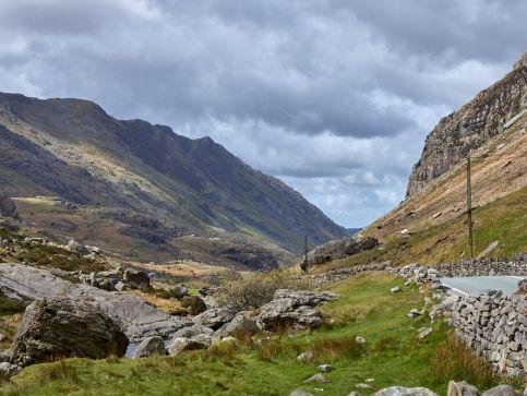 Góry, szczyty i pasma górskie w Walii