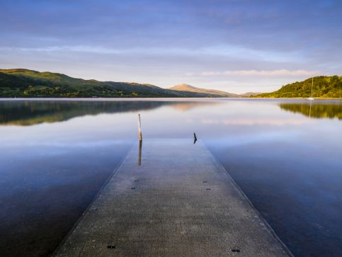 Jeziora i zbiorniki wodne w Walii