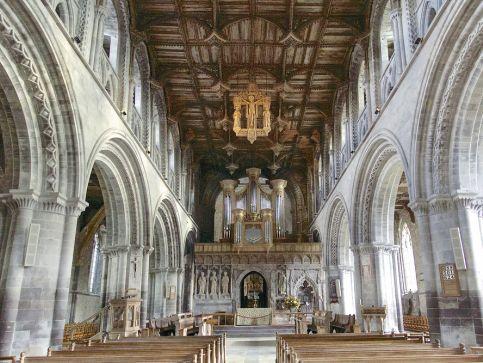 Katedry i zabytkowe kościoły w Walii