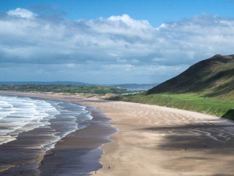 Plaże, wybrzeże i zatoki w Walii