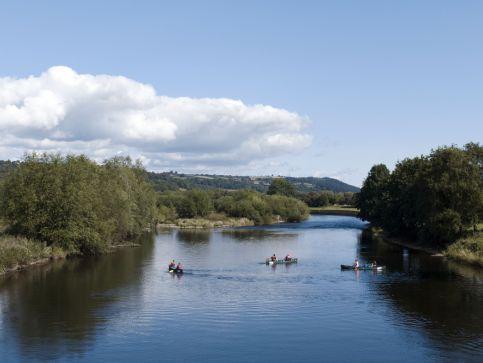 Rzeki i kanały wodne w Walii